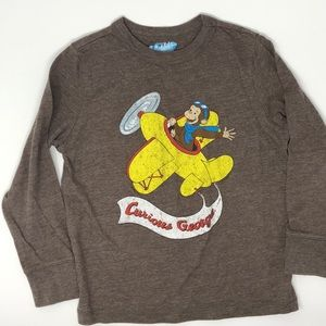 Other - Curious George Long-Sleeve Tee